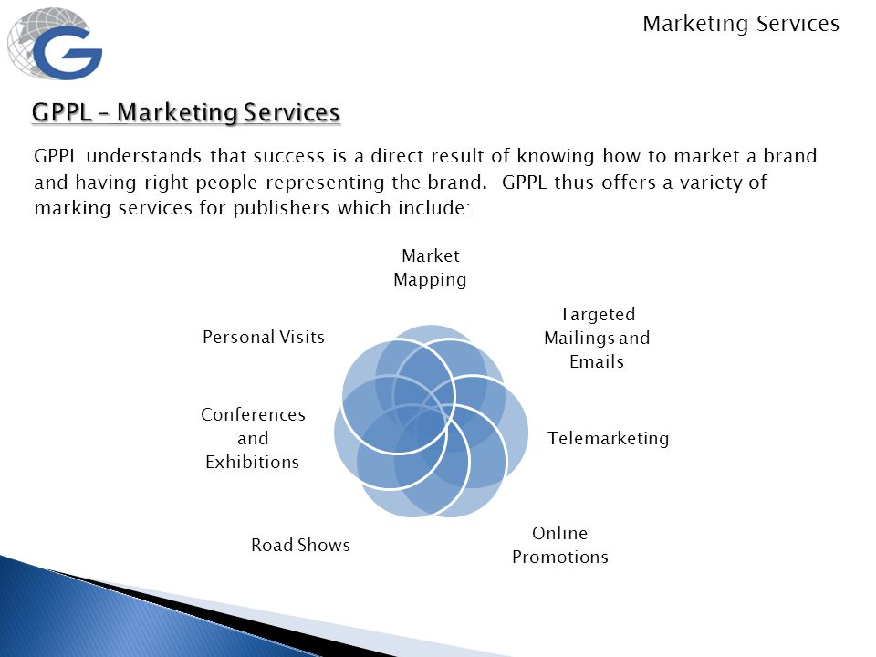 GPPL – Marketing Services
