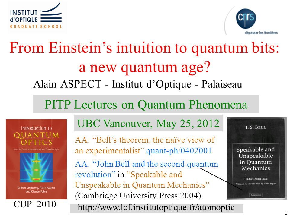 From Einstein's intuition to quantum bits: a new quantum age