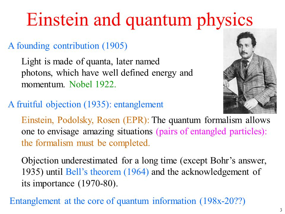 Einstein and quantum physics
