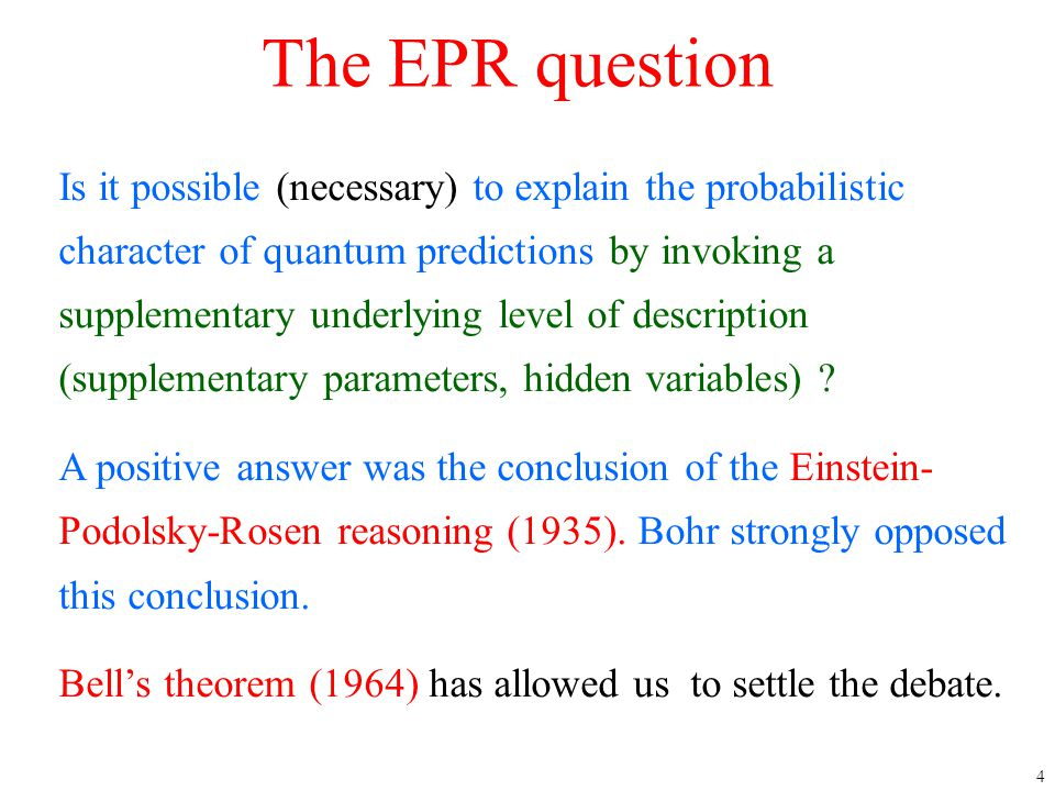 4/12/2017 The EPR question.