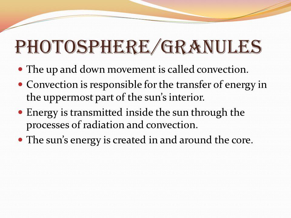 Photosphere/granules