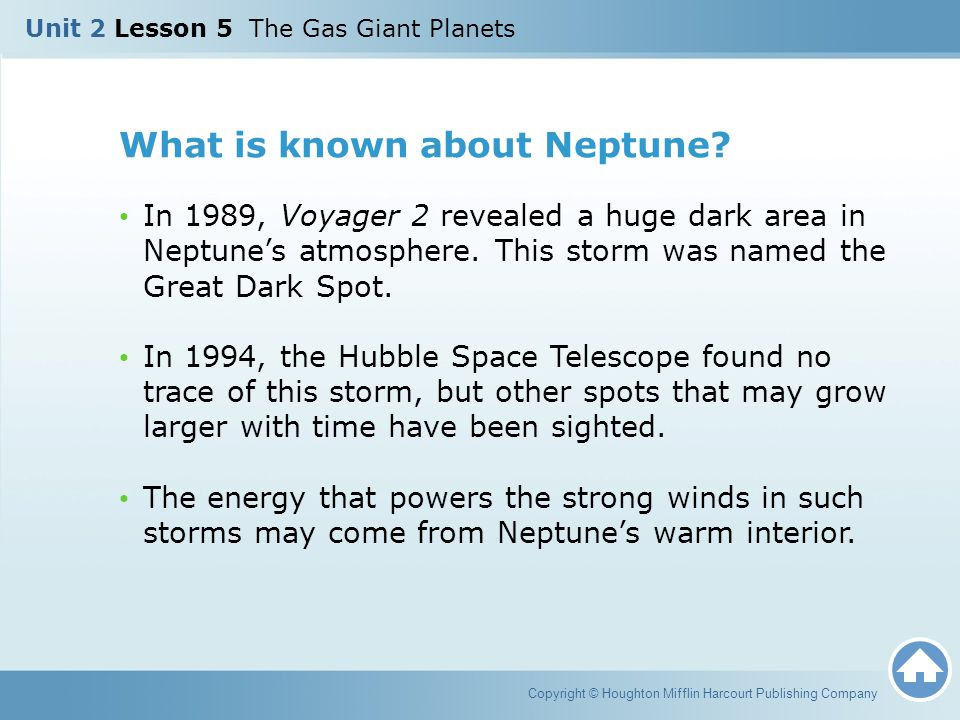 What is known about Neptune