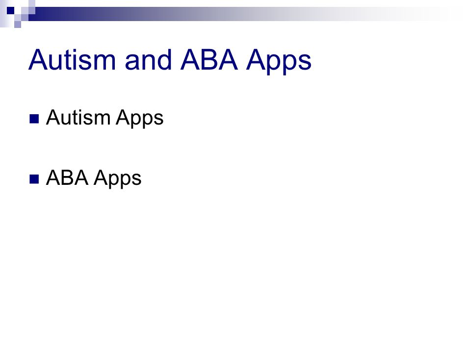 Autism and ABA Apps Autism Apps ABA Apps