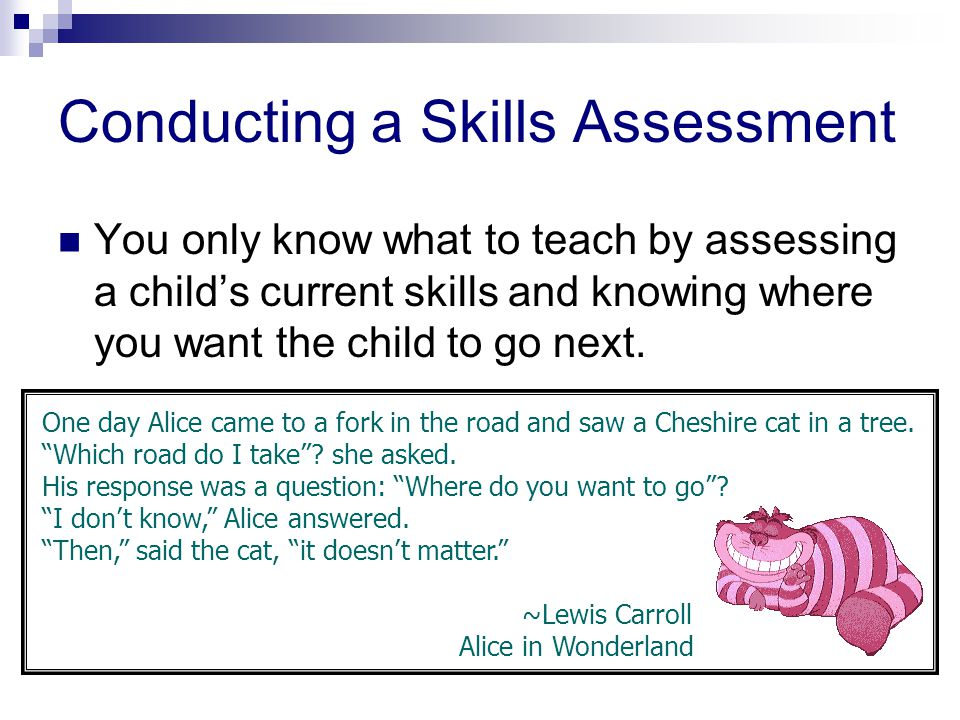 Conducting a Skills Assessment