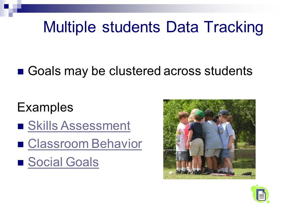 Multiple students Data Tracking