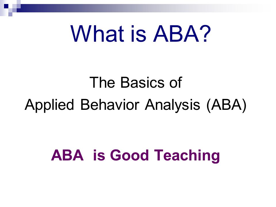 how to teach groupwork aba