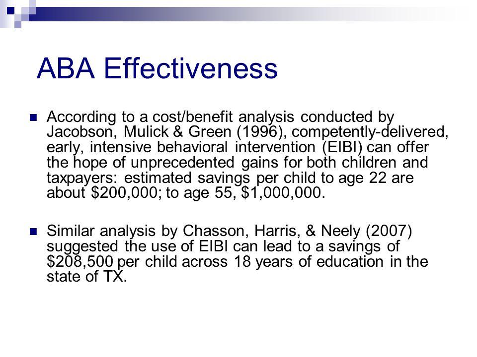 ABA Effectiveness