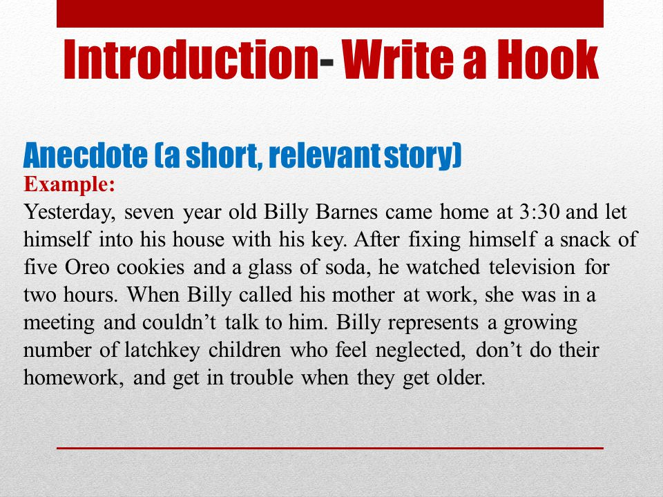 Billy elliot example essays for kids