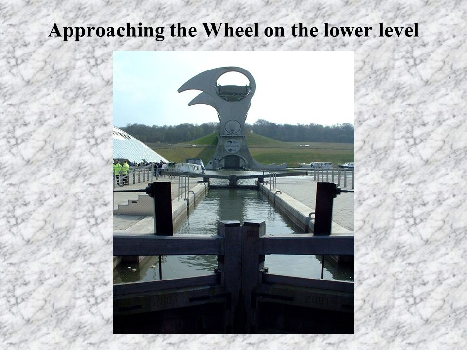 Approaching the Wheel on the lower level