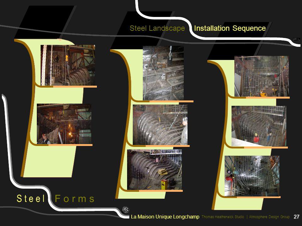 Steel Landscape Installation Sequence