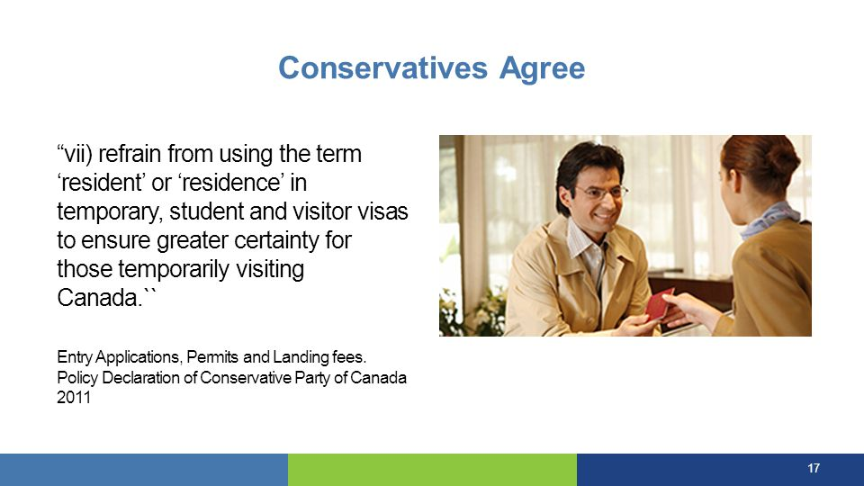 Conservatives Agree