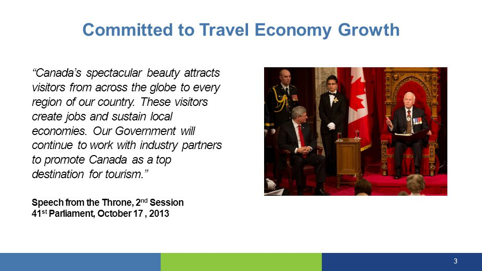 Committed to Travel Economy Growth