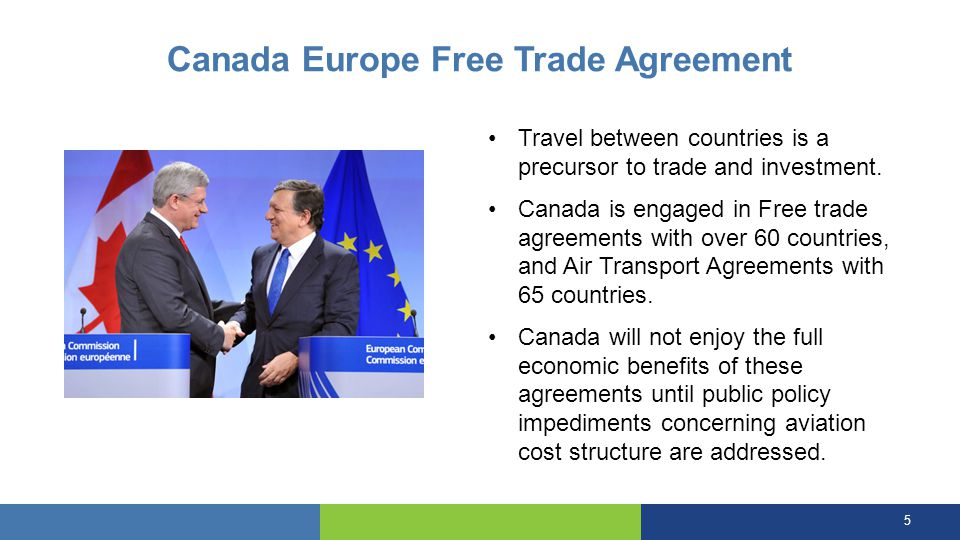 Canada Europe Free Trade Agreement