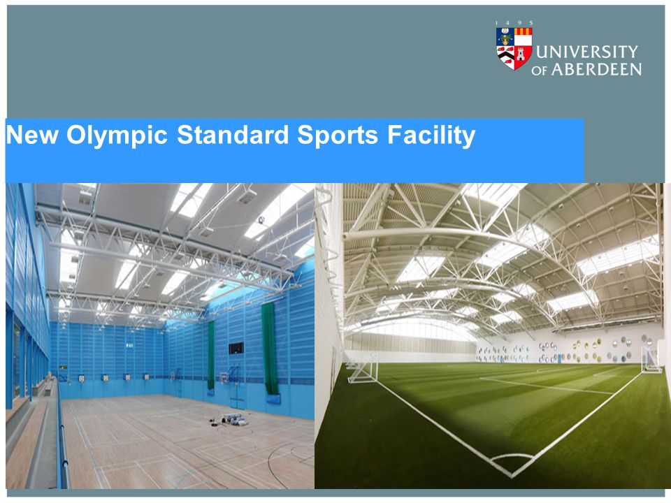 New Olympic Standard Sports Facility
