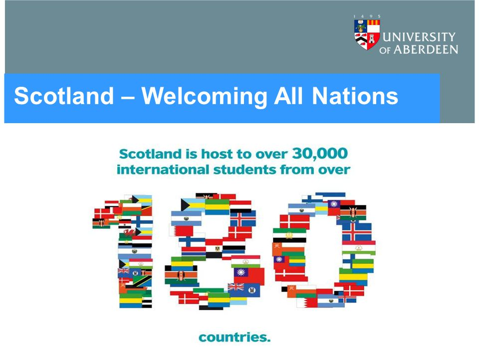 Scotland – Welcoming All Nations