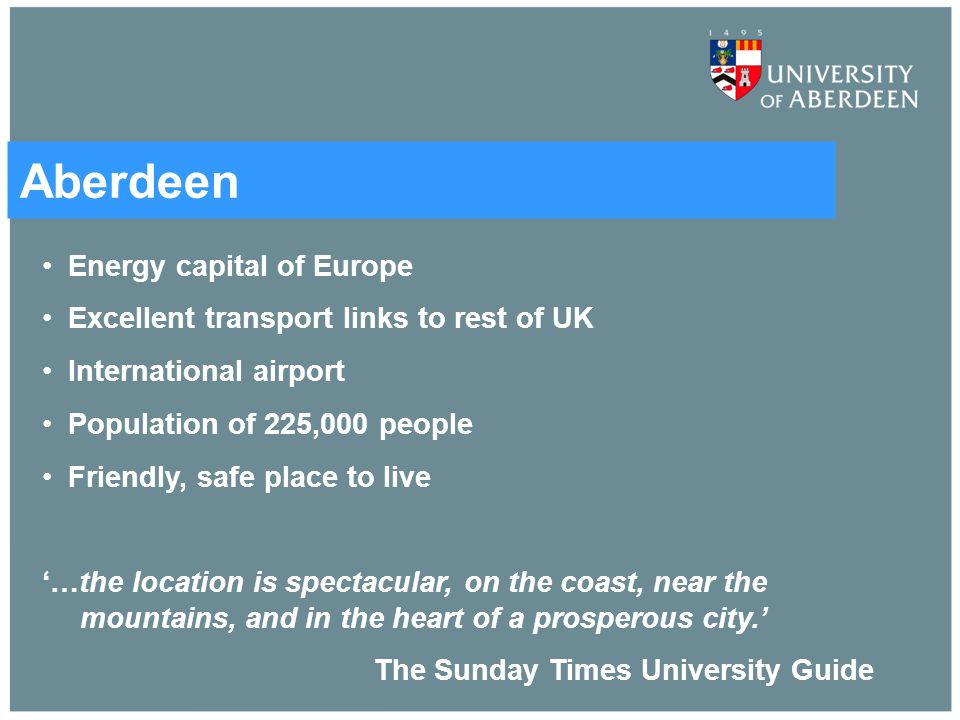 Aberdeen Energy capital of Europe