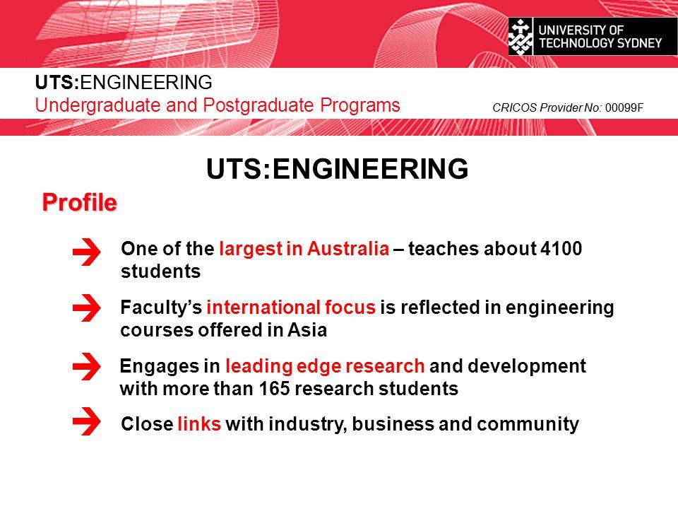 UTS:ENGINEERING Profile UTS:ENGINEERING