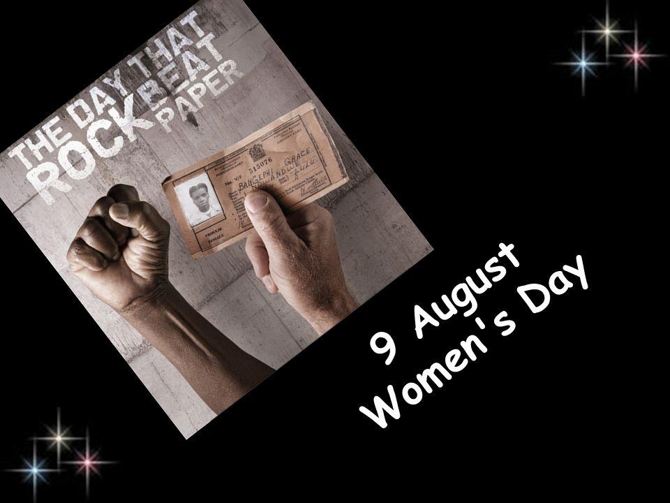 9 August Women s Day