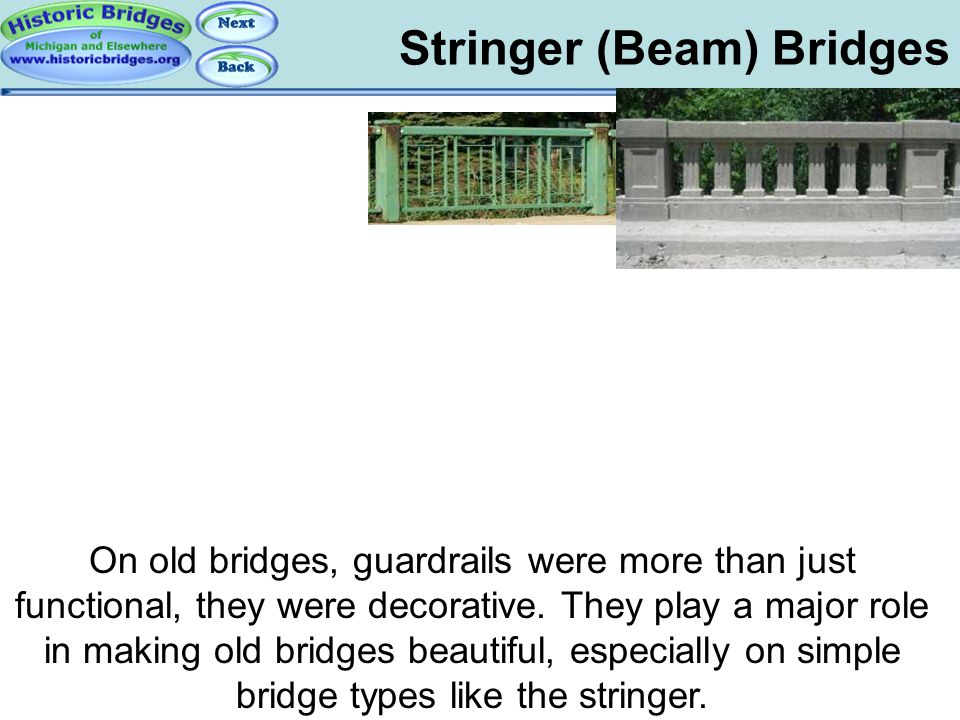 Stringer Bridges - Railings