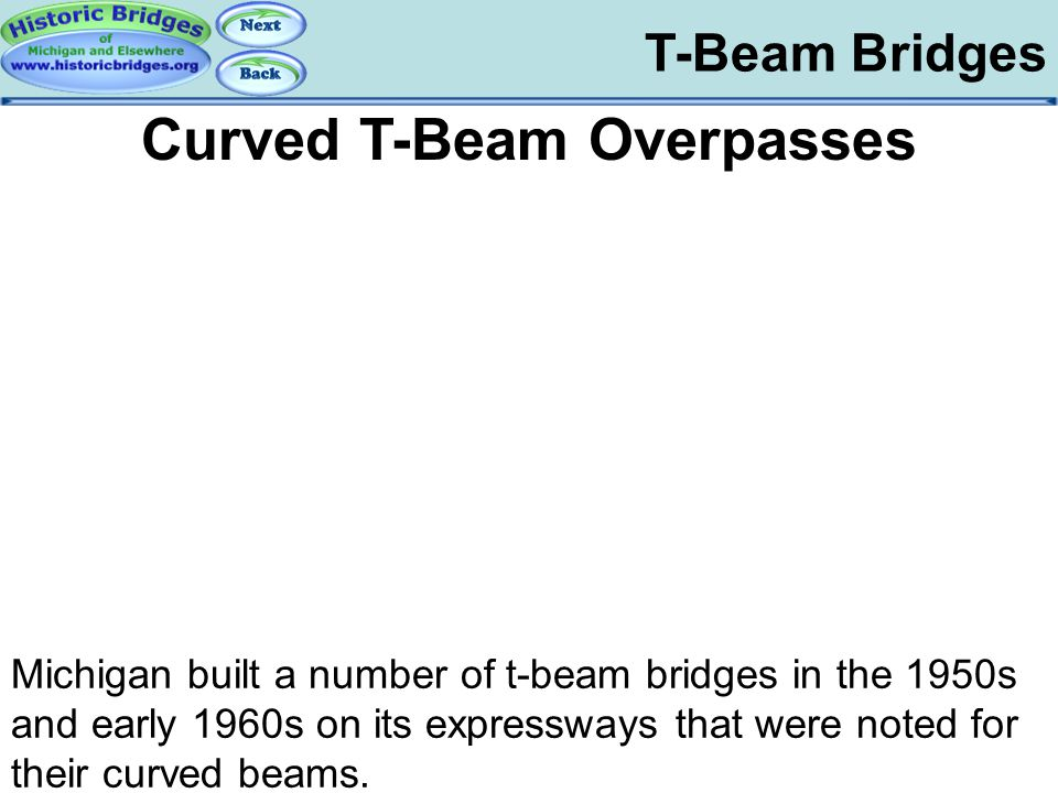 T-Beam Bridges – Curved