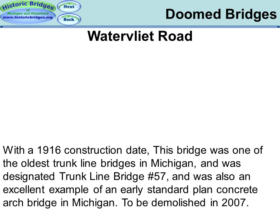 Doomed – Watervliet Road