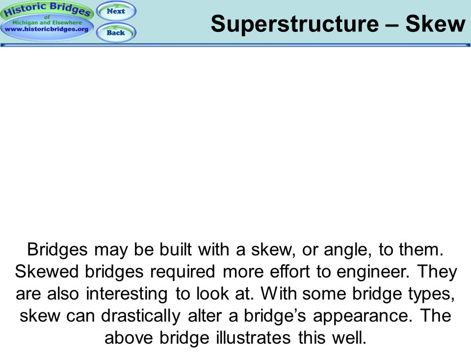 Superstructure – Skew Superstructure – Skew