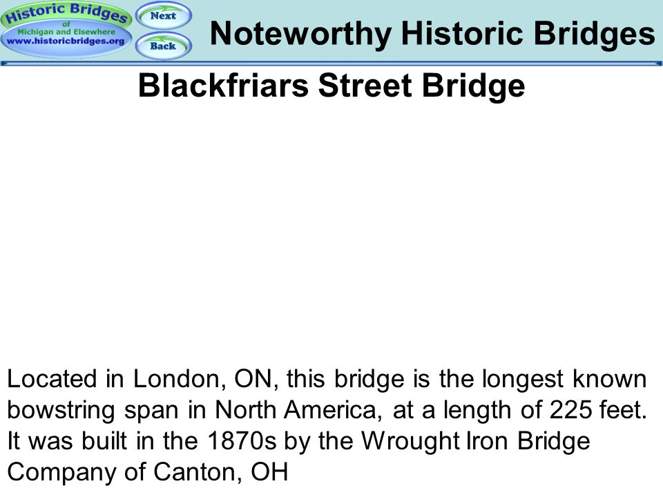 Blackfriars Street Bridge