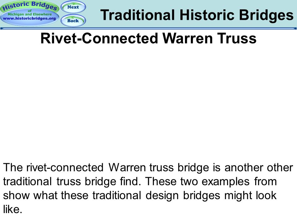 Rivet-Connected Warren Truss