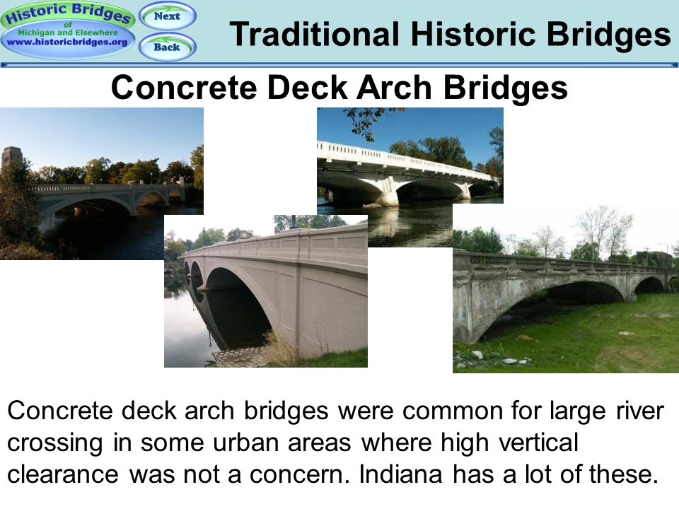 Traditional – Concrete Deck Arch