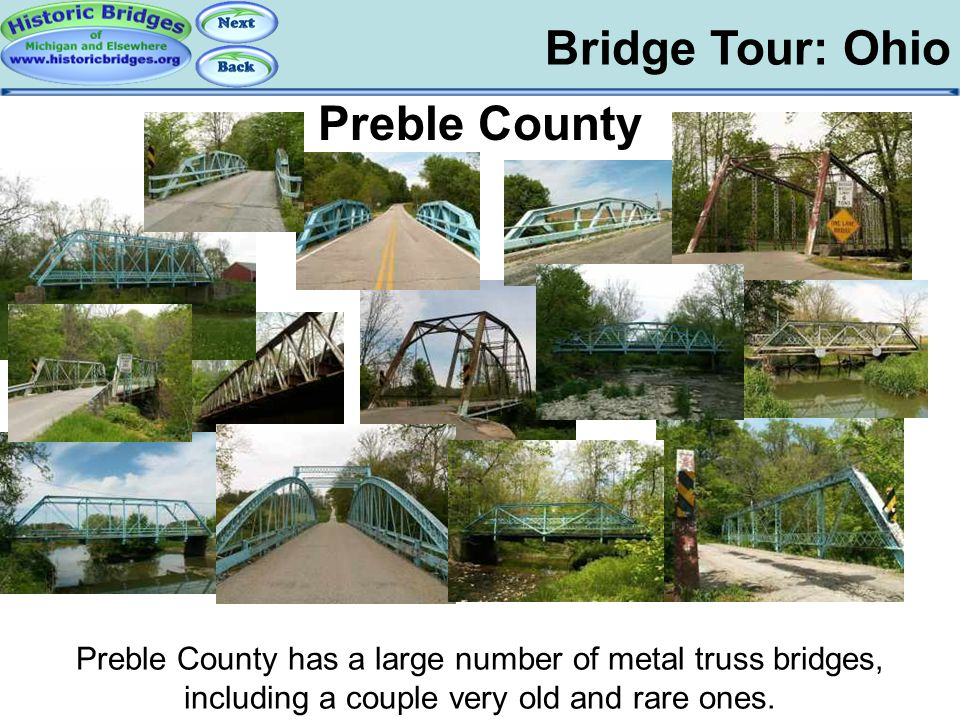 Tour: OH: Preble Bridge Tour: Ohio Preble County