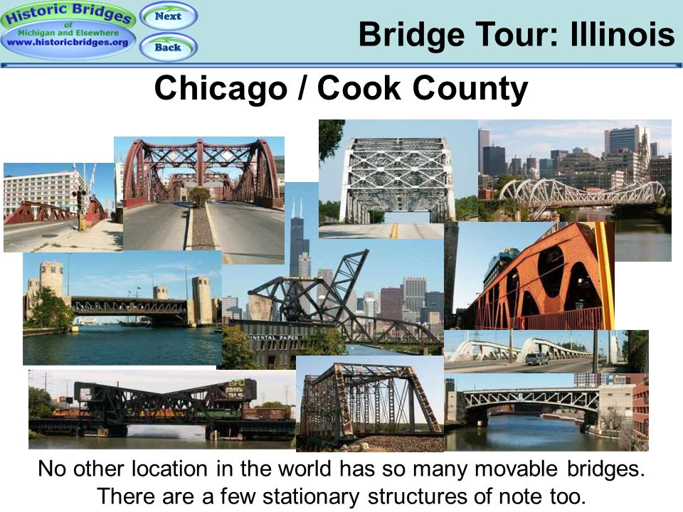 Tour: IL: Chicago Bridge Tour: Illinois Chicago / Cook County