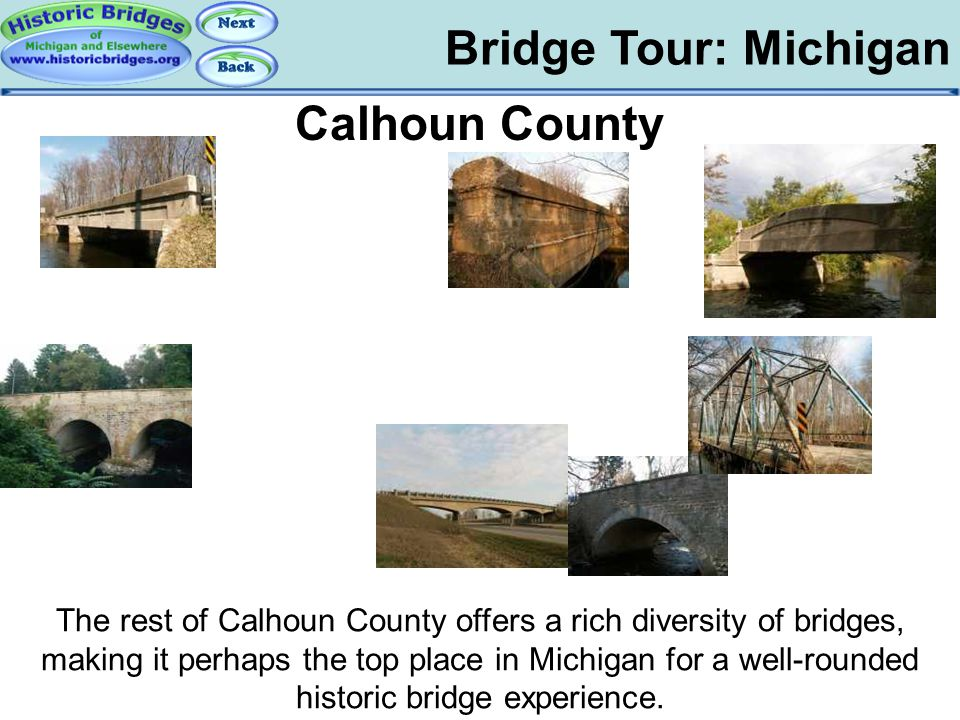 Tour: MI: Calhoun County