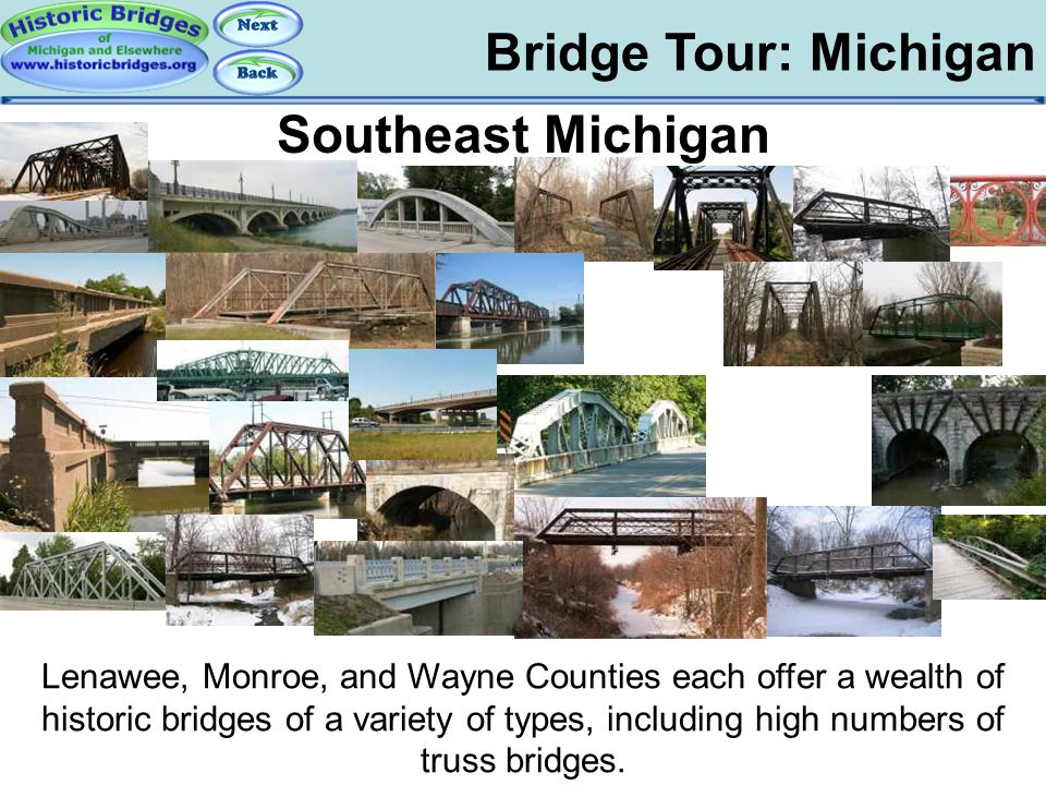 Tour: Southeast MI Bridge Tour: Michigan Southeast Michigan