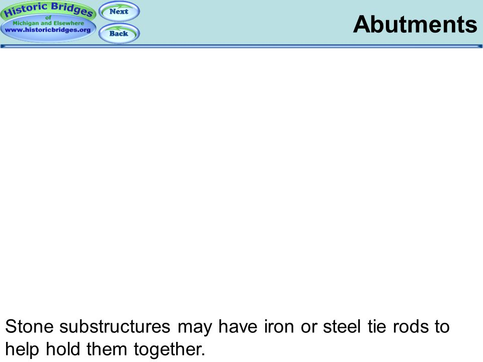 Substructures - Abutments