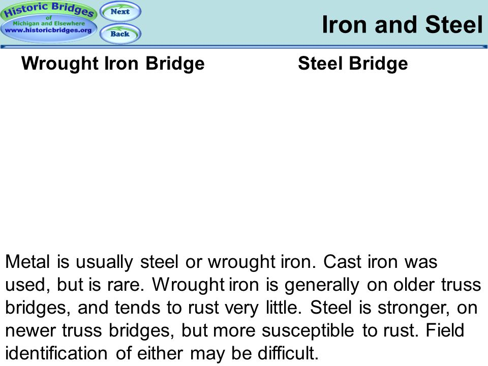 Truss Basics – Iron and Steel
