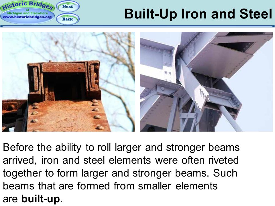 Iron and Steel – Built-Up