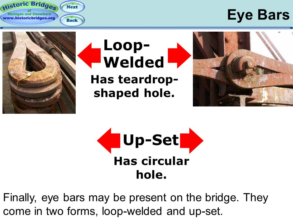 Iron and Steel – Eye Bars