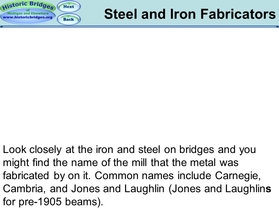 Steel and Iron Fabricators