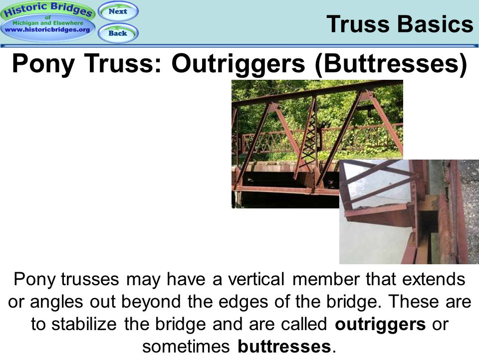 Truss Basics – Pony Outriggers