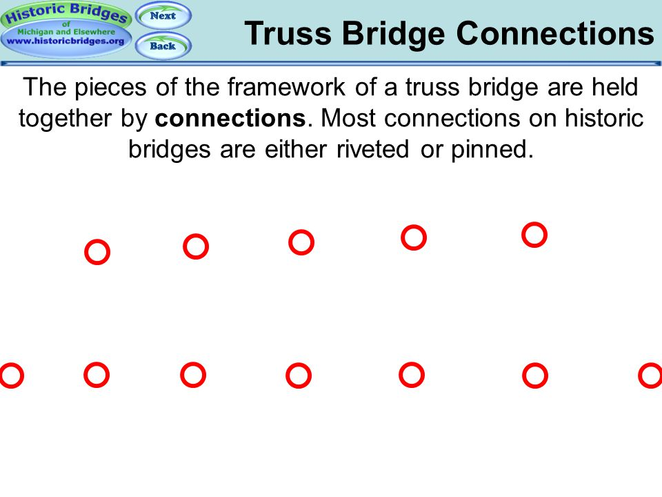 Truss Bridge Connections
