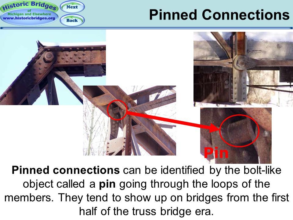 Truss Connections - Pinned