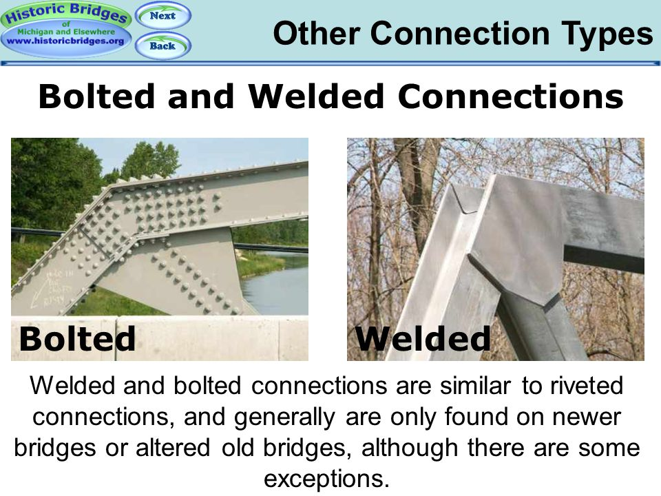 Truss Connections – Bolts and Welds
