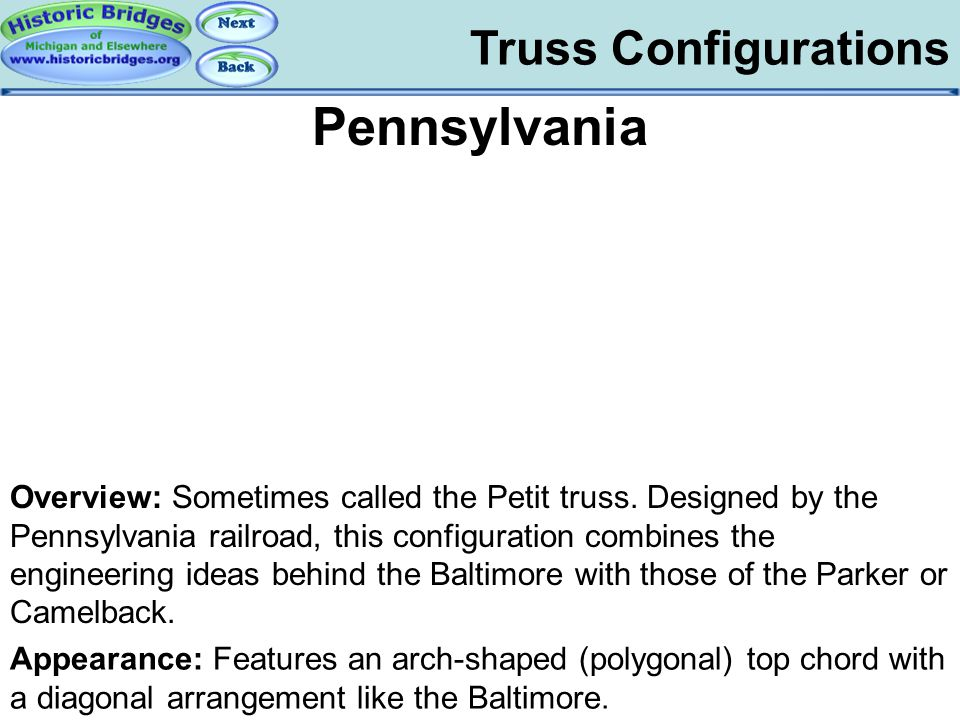 Truss Configs - Pennsylvania