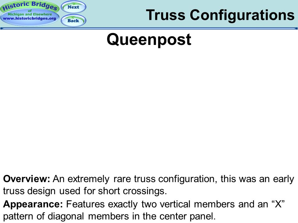 Truss Configs - Queenpost