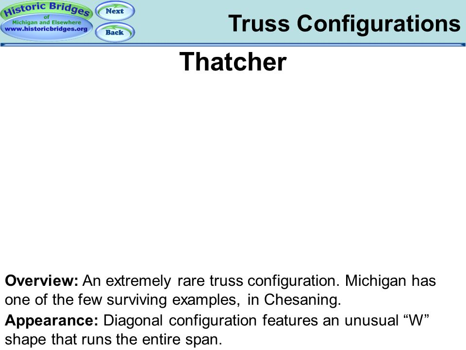 Truss Configs - Thatcher
