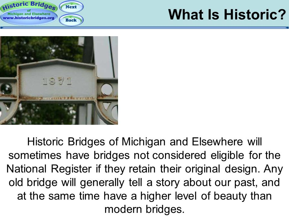What is Historic - HBME What Is Historic
