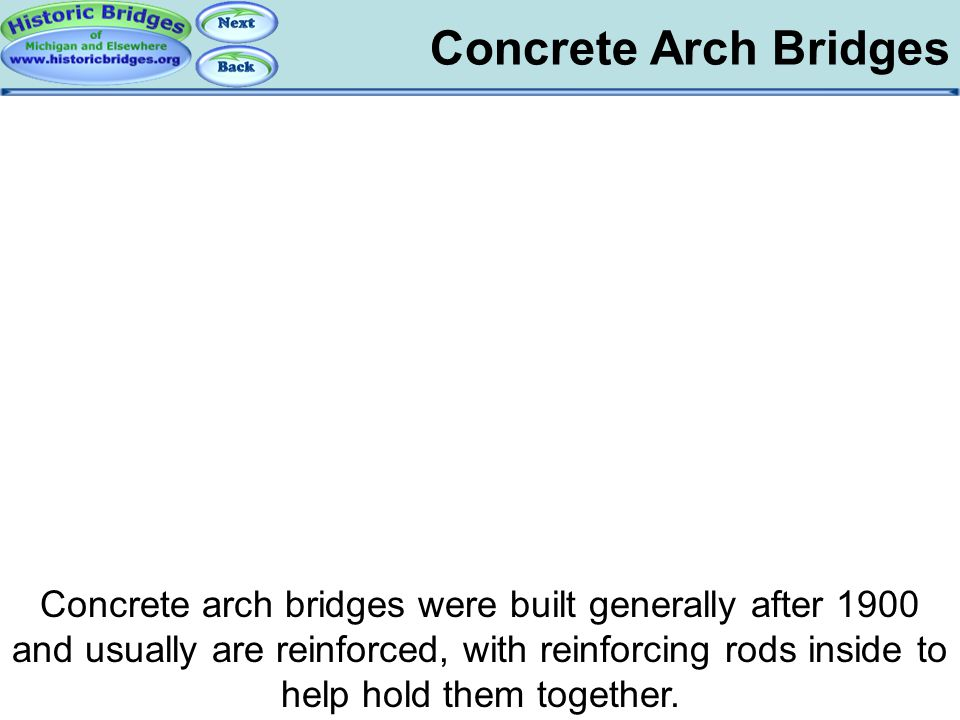 Arch Bridges - Concrete