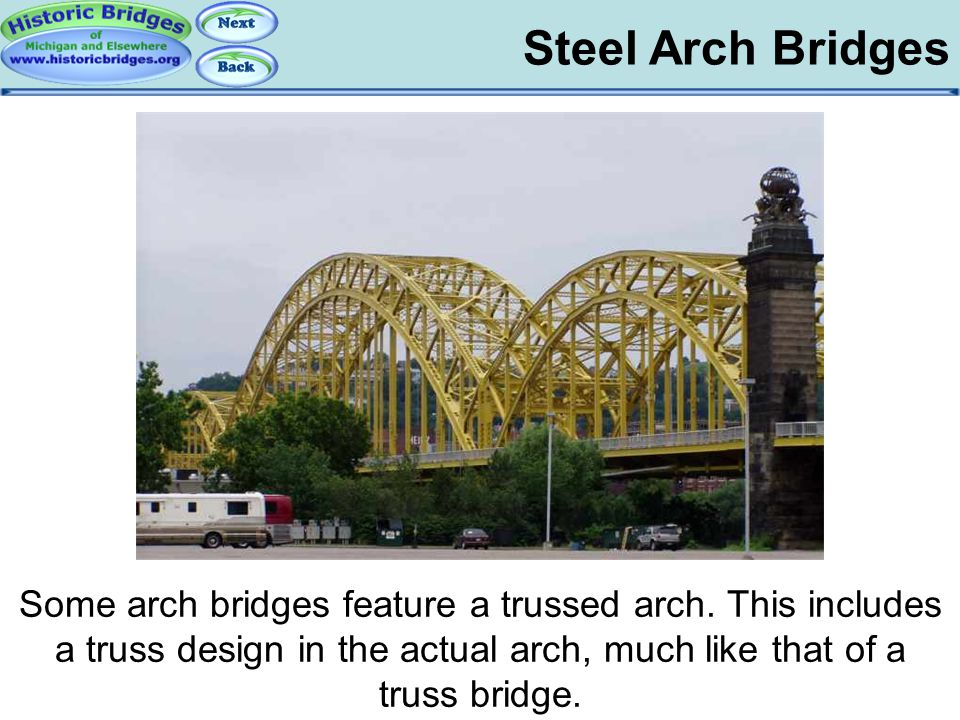 Arch Bridges - Steel Steel Arch Bridges