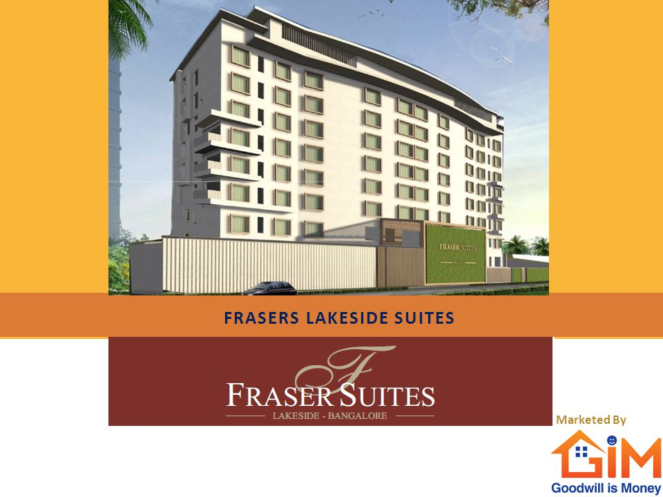 Frasers lakeside suites