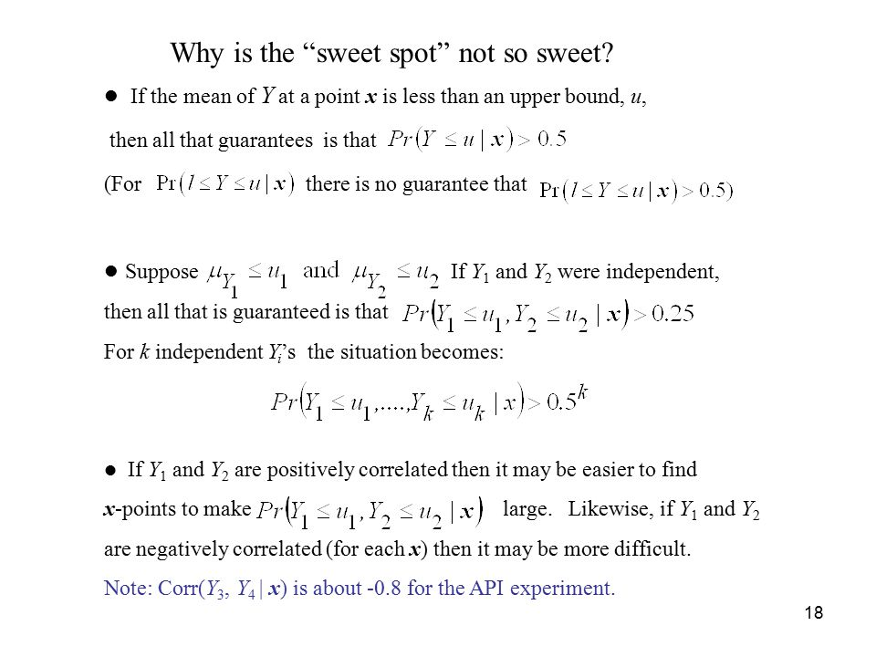 Why is the sweet spot not so sweet